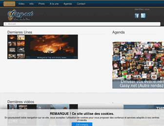 gasy.net screenshot