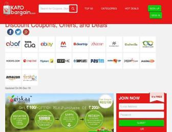 karobargain.com screenshot