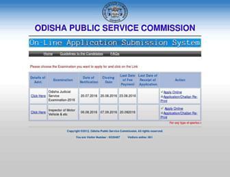 Thumbshot of Opsconline.gov.in