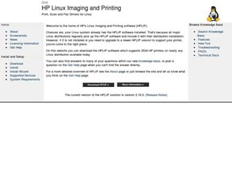 Thumbshot of Hplipopensource.com