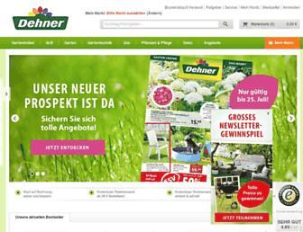 Thumbshot of Dehner.de