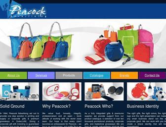 peacockdubai.com screenshot