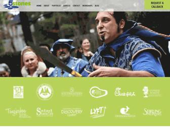 5stonesmedia.com screenshot