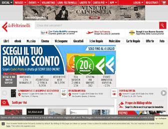 lafeltrinelli.it screenshot