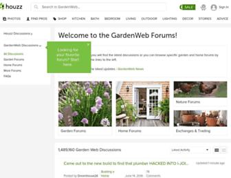 Thumbshot of Gardenweb.com