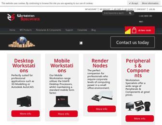 workstationspecialist.com screenshot
