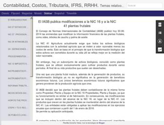 contablesytributarias.com screenshot