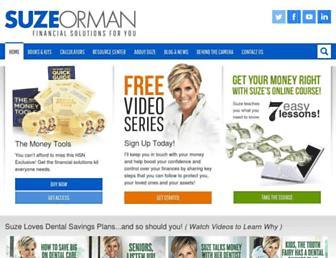 Thumbshot of Suzeorman.com