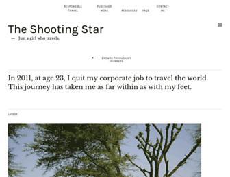 the-shooting-star.com screenshot