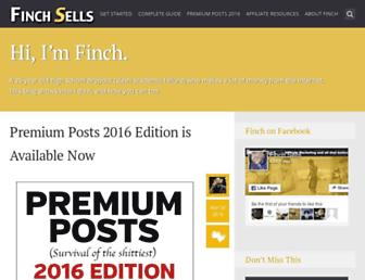 finchsells.com screenshot