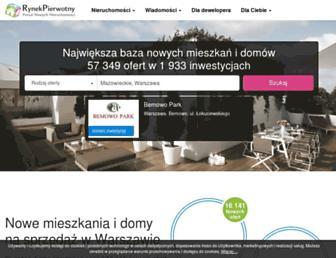 rynekpierwotny.pl screenshot
