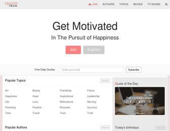 quotesgram.com screenshot