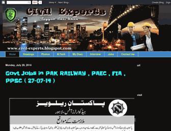 civil-experts.blogspot.com screenshot
