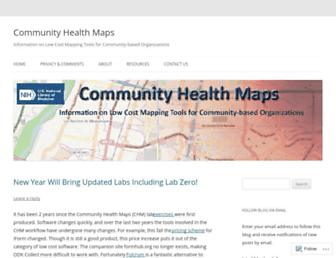 communityhealthmaps.nlm.nih.gov screenshot