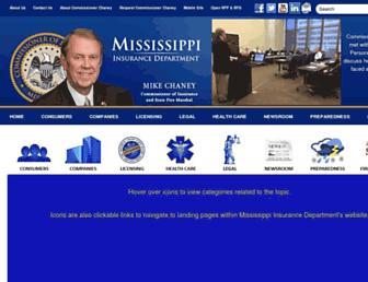mid.ms.gov screenshot