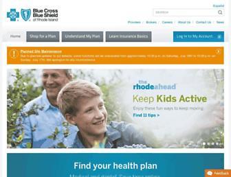 bcbsri.com screenshot