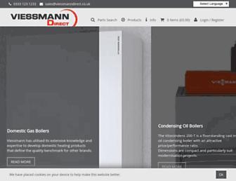 viessmanndirect.co.uk screenshot