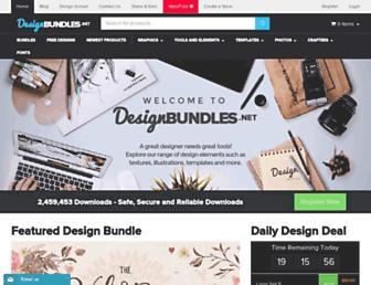 designbundles.net screenshot