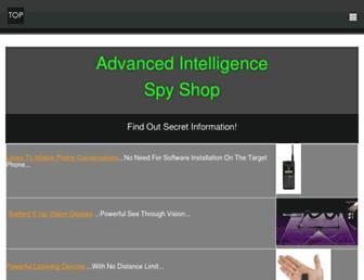 advanced-intelligence.com screenshot