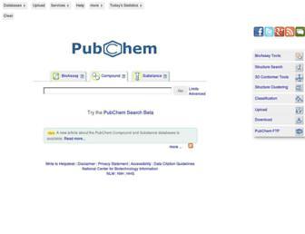 pubchem.ncbi.nlm.nih.gov screenshot