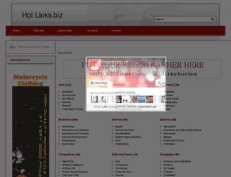 Thumbshot of Hotlinks.biz