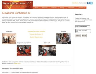 surfstation.idevworks.com screenshot
