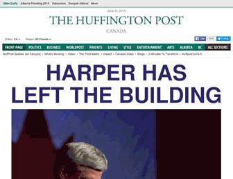 Thumbshot of Huffingtonpost.ca