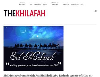 Thumbshot of Khilafah.com