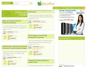 Thumbshot of Storymint.com