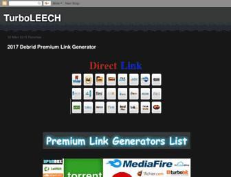 turbobitleech.blogspot.com screenshot