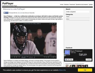 daumpotplayer.com screenshot