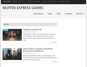 muffinexpressgames.com screenshot