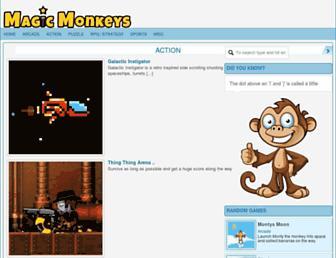 magicmonkeys.co.uk screenshot