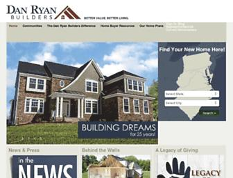 danryanbuilders.com screenshot
