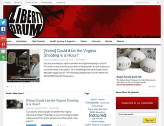 Thumbshot of Libertydrum.com
