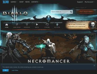 eu.diablo3.com screenshot