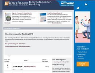 Thumbshot of Internetagentur-ranking.de
