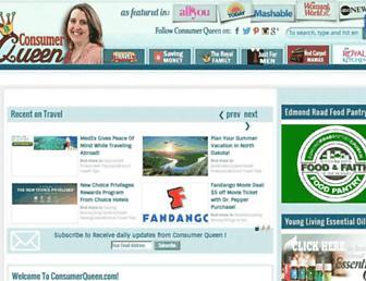 Thumbshot of Consumerqueen.com