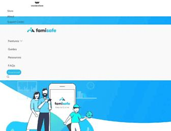 famisafe.wondershare.com screenshot
