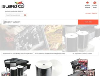 islandcd.co.uk screenshot