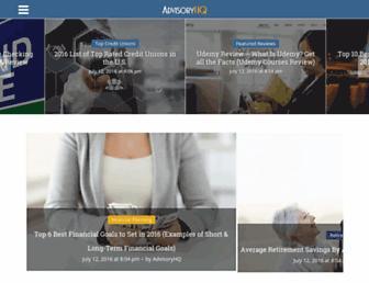 advisoryhq.com screenshot