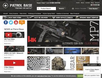patrolbase.co.uk screenshot