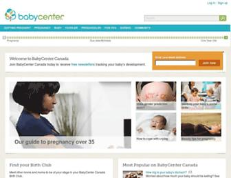 babycenter.ca screenshot