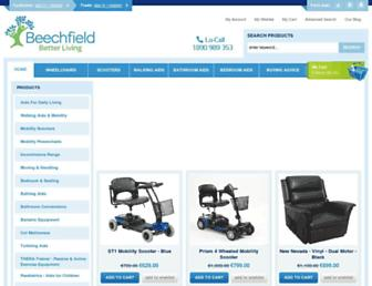 beechfieldhealthcare.ie screenshot