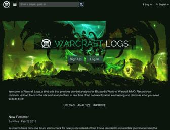 warcraftlogs.com screenshot