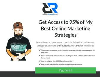 robbierichards.com screenshot