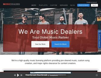 musicdealers.com screenshot