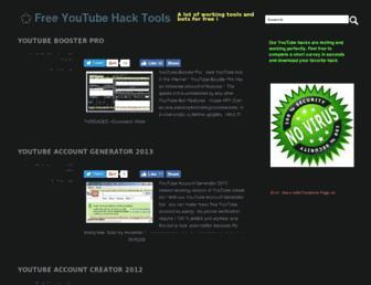 youtubehacktools.blogspot.com screenshot