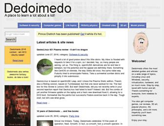 dedoimedo.com screenshot