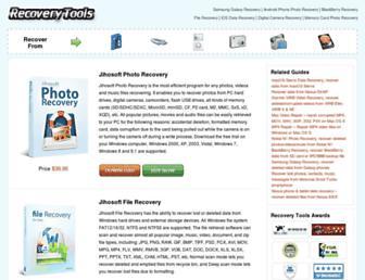 freerecoverytools.com screenshot